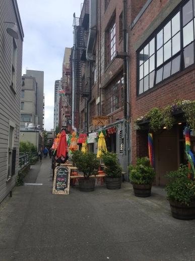 Seattle Alleys