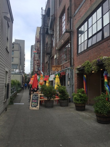 Seattle Alleys