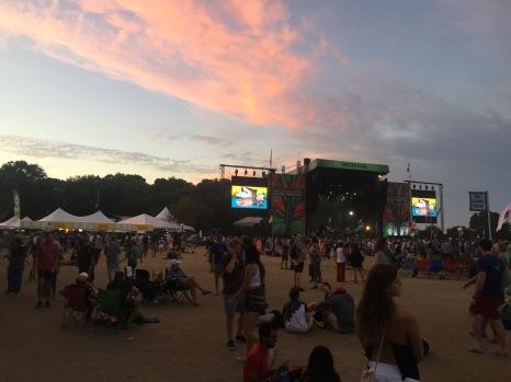 Austin ACL Sunset