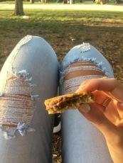 Madrid comida en el parque