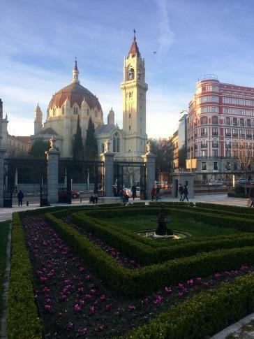 Madrid Pargue flores