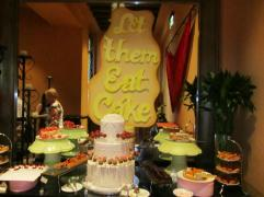 Dubai Al Qasr cake