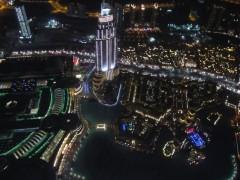 Dubai burj view