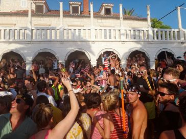 Croatia Hvar 4th of July Party