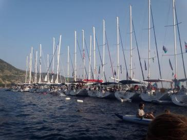 Croatia Sailboat line