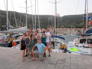 Croatia Vis Town Crew