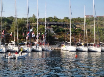 Croatia Yacht Week dingy