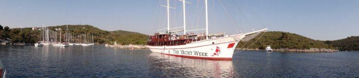 Croatia Yacht Week Pano