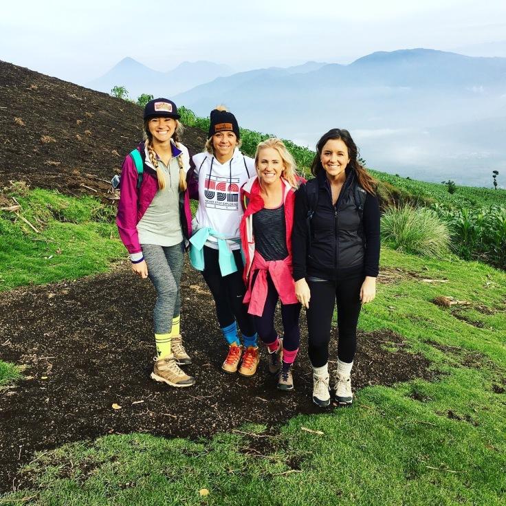 Guate Acetenango crew