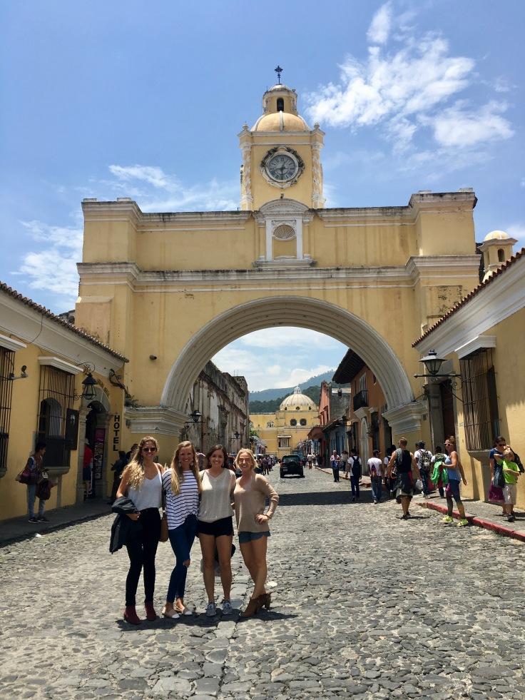 Guate Antigua pueblo