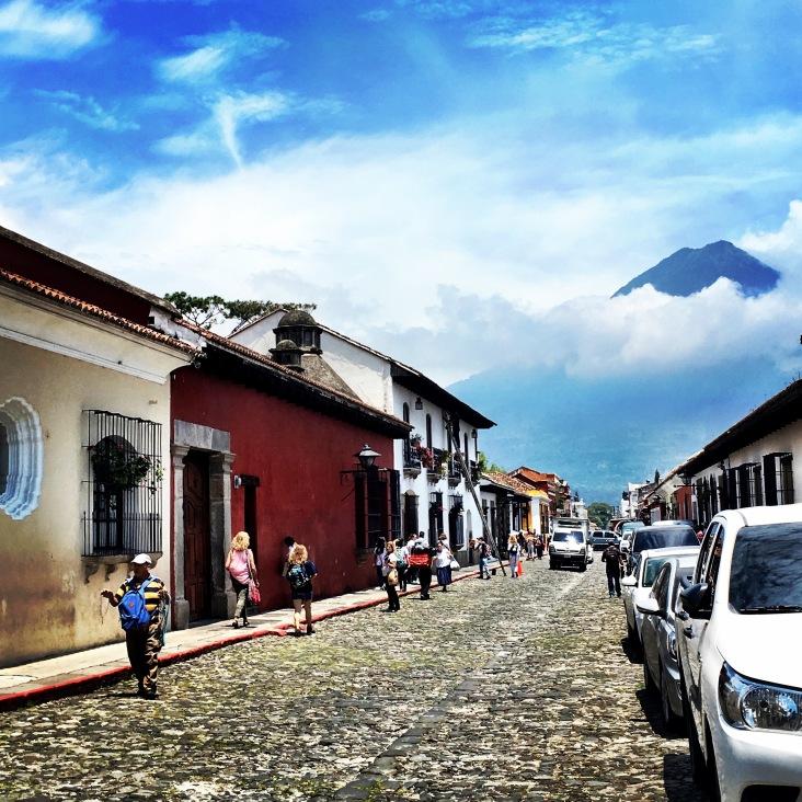 Guate Antigua town