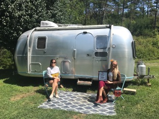 Asheville Glamping Baby Airstream